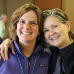 Lenore Byer-Clow, Openlands, and Judith Stockdale, Land Trust Alliance